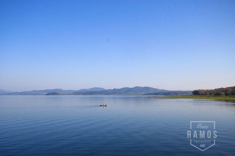 Paisaje Lago de Yojoa Honduras