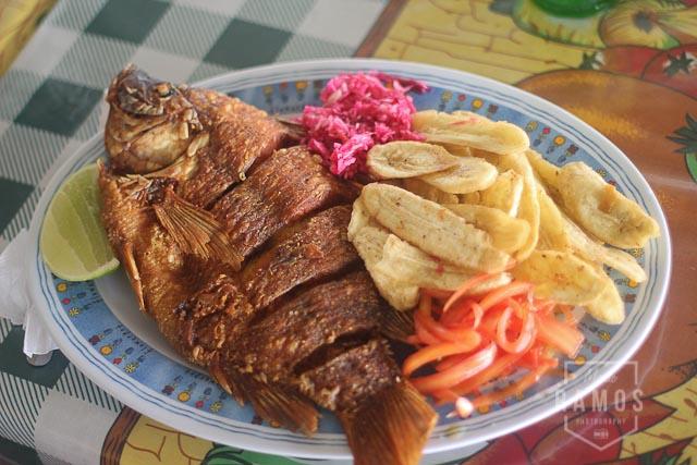 Pescado Frito Lago de Yojoa Honduras